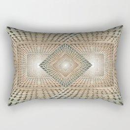 The Neverending Clothes Pin Chute Rectangular Pillow