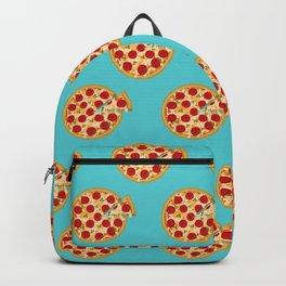 Fun salami pizza pie pattern Backpack