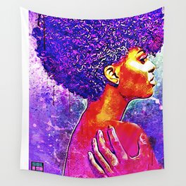 PURP QUEEN Wall Tapestry