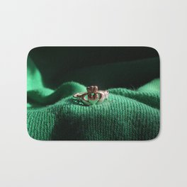 Claddagh Ring Bath Mat