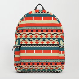 Ethnic lines Backpack