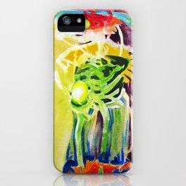 Internal Contours iPhone Case