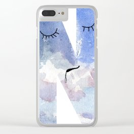 """N is for """"Nebulous"""" Clear iPhone Case"""