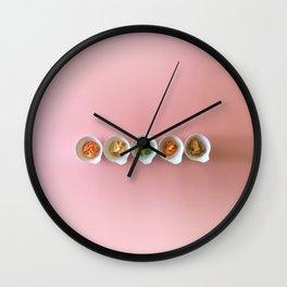 kimchi banchan Wall Clock