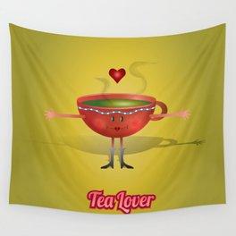 Tea Lover! Wall Tapestry