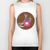 rockabilly Biker Tanks featuring  rockabilly love by Kopfzirkus