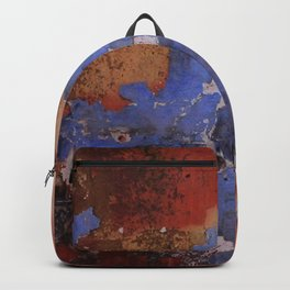 Abstract wall patchwork painting Backpack