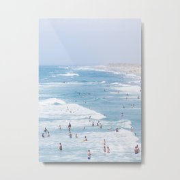 Beach Life 2 Metal Print