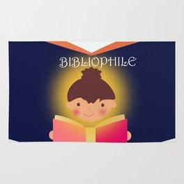 I am a Bibliophile Rug