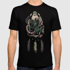 The Dream Catcher: Old Hag's Bane Black Mens Fitted Tee 2X-LARGE
