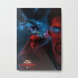 Doctor Strange 2: in the Multiverse of Madness Metal Print