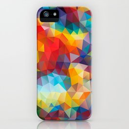 Polygon JLM iPhone Case