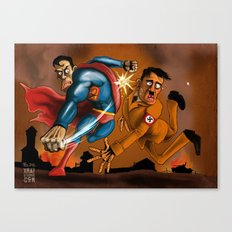No Supes for you Canvas Print