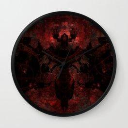 The moth Wall Clock