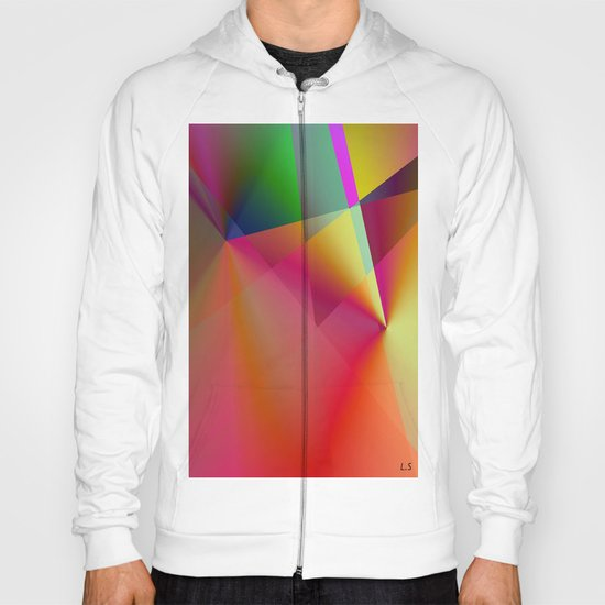 """ The color creates the emotion and lets spring the spark of the creation. "" Hoody"