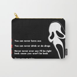 Scream: Randy´s rules Carry-All Pouch