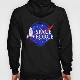 US Space Force | NASA Rocket Military Space Dominance Dark Hoody