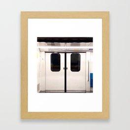 Rio de Janeiro Subway Framed Art Print