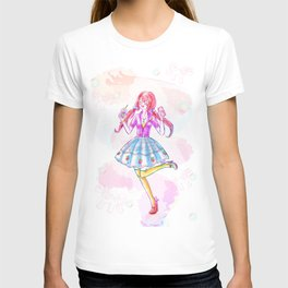 Pastel Unicorn Frap Girl T-shirt