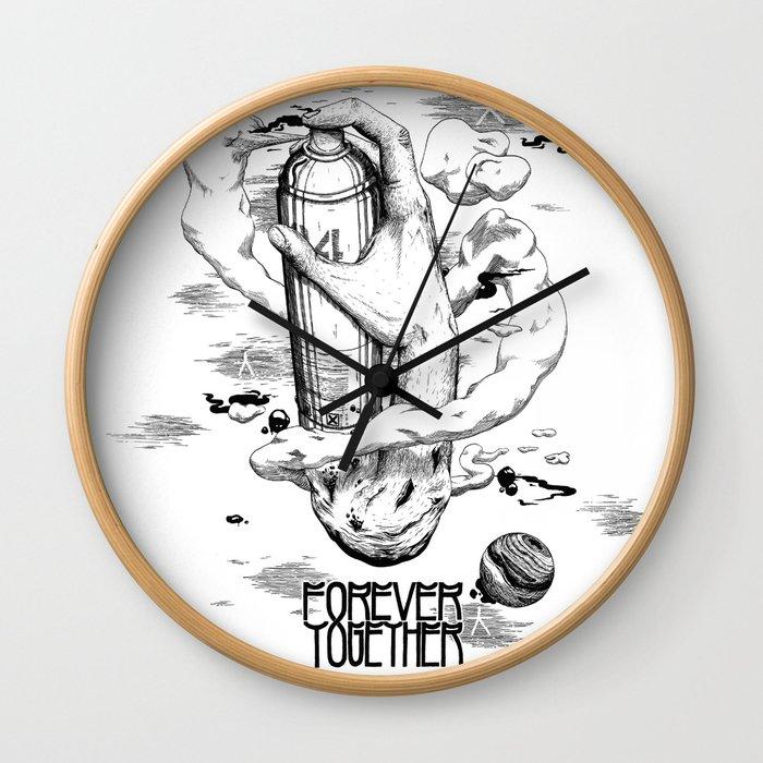 Aerosol Wall Clock