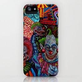 Killer Klowns from outer space iPhone Case