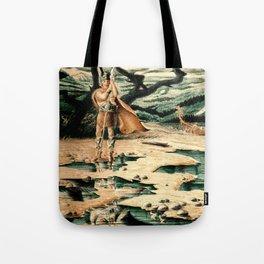 Viking Man Tote Bag