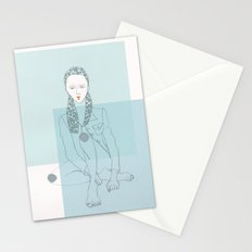 White Lies Stationery Cards