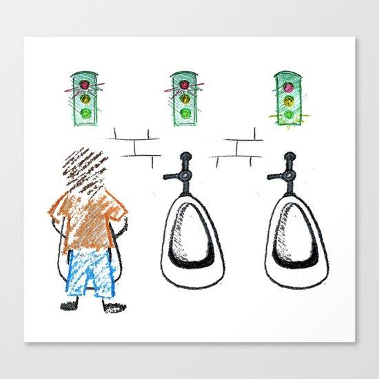 Advanced Potty Training Canvas Print