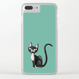 tux coot Clear iPhone Case