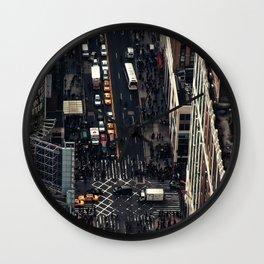 New York City view Wall Clock