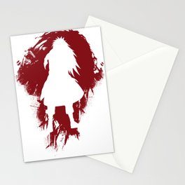 The Darkness - Red Abstract Stationery Cards