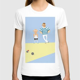 men bowling T-shirt