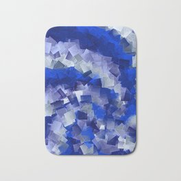 little sqares and rectangles pattern -1- Bath Mat