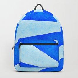 Blue sunburst Backpack