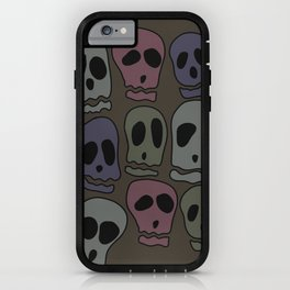 Skulls-2 iPhone Case
