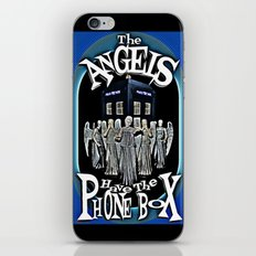 The Angels Have The Phonebox!   Dr. Who iPhone & iPod Skin