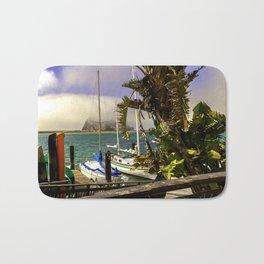 Tropical Morro Bay Bath Mat