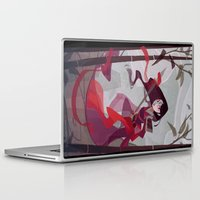 mulan Laptop & iPad Skins featuring Mulan by Ann Marcellino