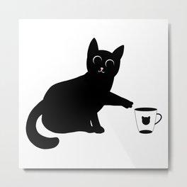 Don't drop the mug Metal Print