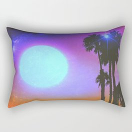 Summer Binge (Blues) Rectangular Pillow