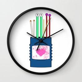 Knit Wall Clock