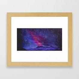 We Are The Infinite, Cosmic Series Framed Art Print