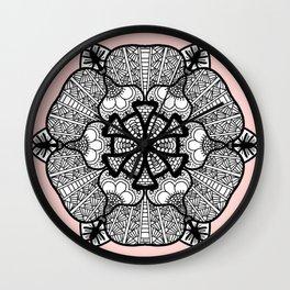 Zentangle 12 Wall Clock