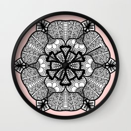 Zentangle 12 Wall Clock