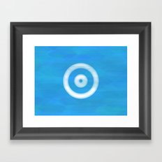 Water Sight Framed Art Print