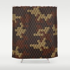 CUBOUFLAGE LUXE Shower Curtain