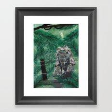 Trepidation Framed Art Print