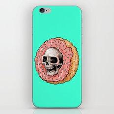 Skull Donut iPhone & iPod Skin