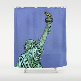 Lady Liberty #6 Shower Curtain