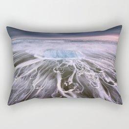 Jökulsárlón glacial lagoon Rectangular Pillow